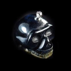 Blauwe Tijgeroog schedel-hanger