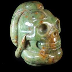 Clinochloor Kundalini schedel