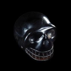 Apachetraan (Smoky Obsidiaan) schedel