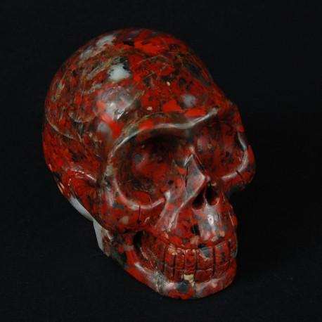 New skull Breciated Jaspis