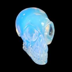 Opaliet alien elfen schedel