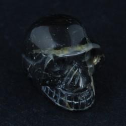 schedel Agaat silver leaf