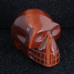 Goudsteen schedel