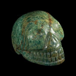 Buddstone (afrikaans Jade) schedel