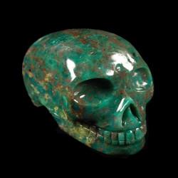 Prasem Opaal schedel