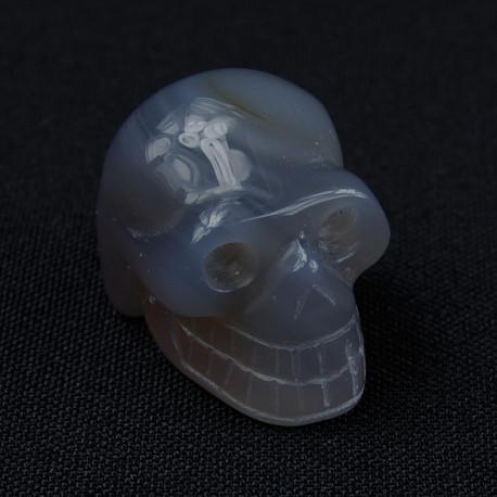 Agaat grijs schedel