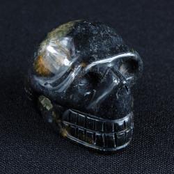 Jaspis Zilverblad schedel