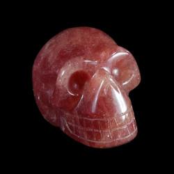 Aardbei Kwarts schedel