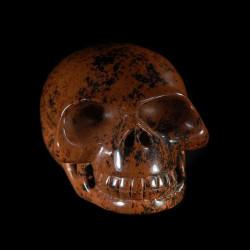 New skull Mahonie Obsidiaan