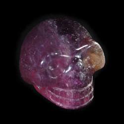 regenboogfluoriet schedel