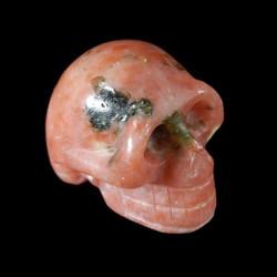 multicolor agaat schedel