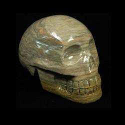 grijs chalcedoon schedel