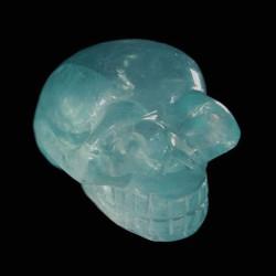 groen Fluoriet schedel