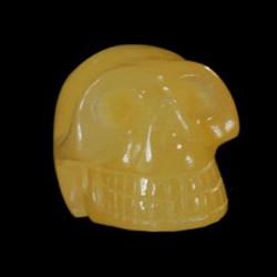 geel jade schedel