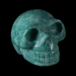 groen Jade schedel