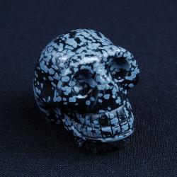 Obsidiaan sneeuwvlok schedel